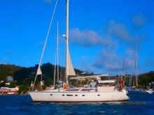 Jeanneau Voyage 12.50 : At anchor in Martinique